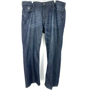 Guess Jeans Relaxed Fit Distressed Wiskering